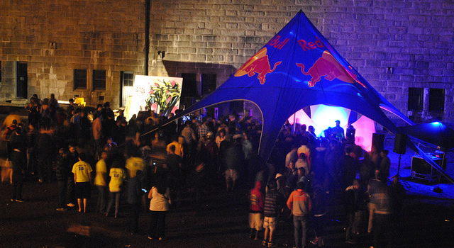 Red Bull Live Painting