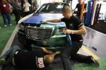 The Hexis team works hard at 2012 SEMA