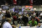 The crowds were heavy as the 2012 PRI show began.