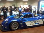 A Chevrolet racing car at the 2012 PRI.