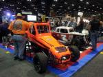 Customized racing cars at the 2012 PRI.