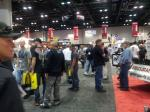 Guests arrive at the 2012 PRI to experience the many exhibits.