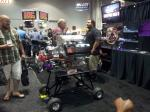 A guest marvels at a display at the 2012 PRI.
