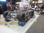 The body of a racing car revealed at the 2012 PRI.