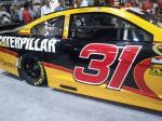 Jeff Burton's 'Caterpillar' is on display at the 2012 PRI.