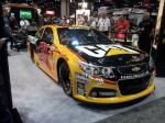 Jeff Burton's 'Caterpillar' is a popular attraction at the 2012 PRI.