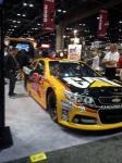 The sleek design of the 'Caterpillar' impresses at the 2012 PRI.