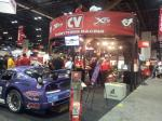 The CV exhibit caught the attentions of many guests at the 2012 PRI.