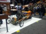 A customized racing car at the 2012 PRI.