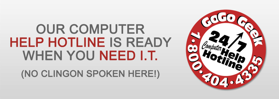 Our Computer Help Hotline is Ready When You Need I.T.