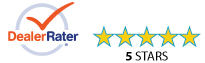 Dealer Rater Five Stars Kirkland Washington