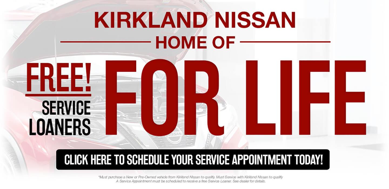 Free Service Loaner
