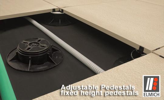 elmich adjustable pedestals