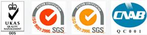 UKAS - ISO 9001-2000 SGS - CNAB QC 001